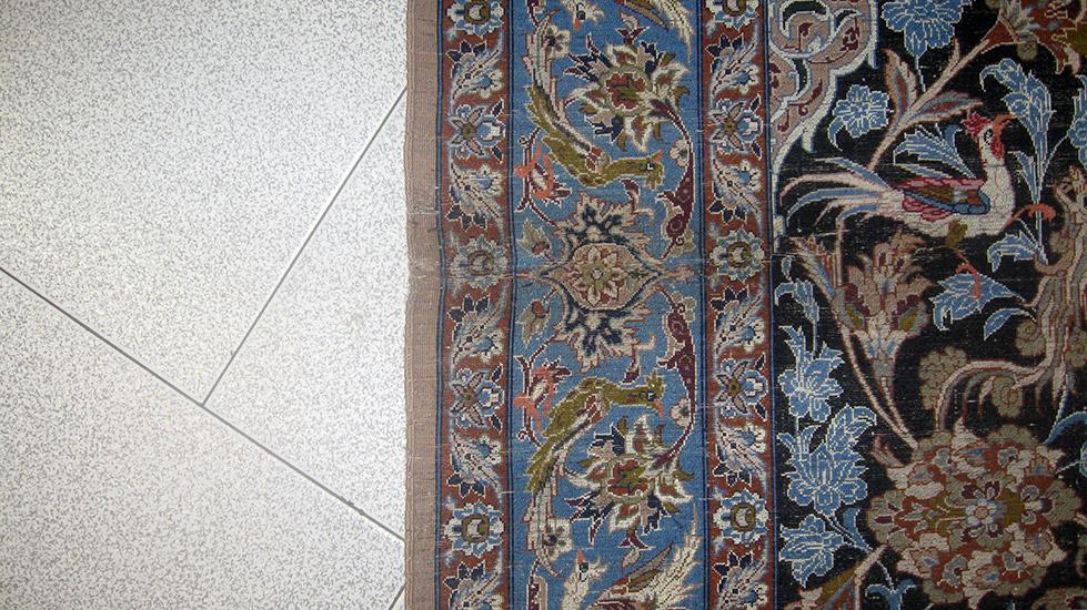 Tappeti Kilim Tunisini : Ricostruire il taglio di isfahan herati.it